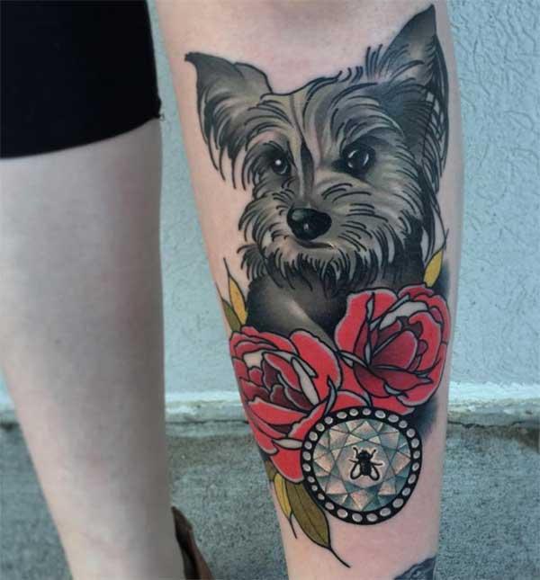 татуіроўкі сабак Pet