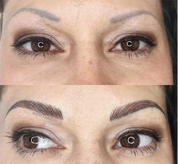 awesome eyebrow tattoos