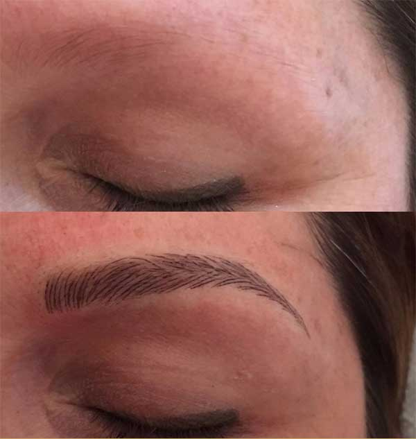super eyebrow tattoos