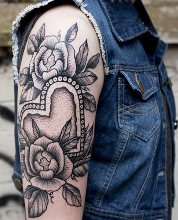 girl half sleeve tattoo ideas