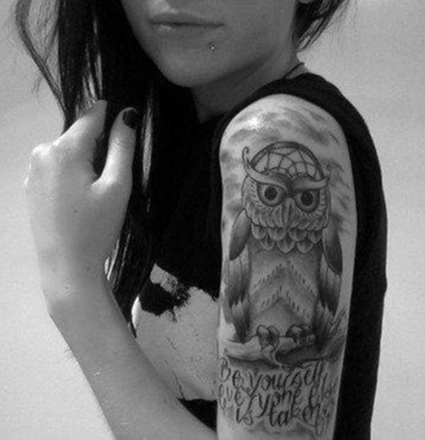 half sleeve tattoo for women ideas
