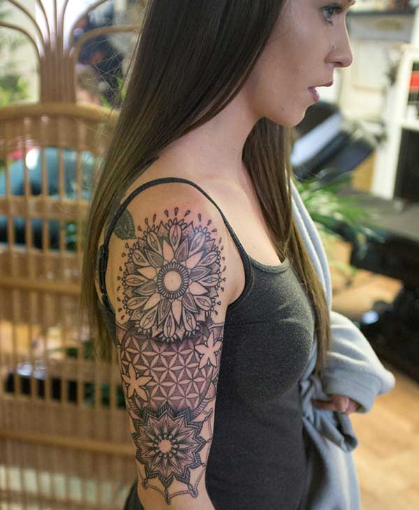 half sleeve tattoos for women designs