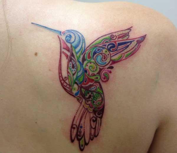 tatu hummingbird bahu