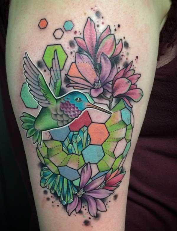 ntxim hlub hummingbird tattoos