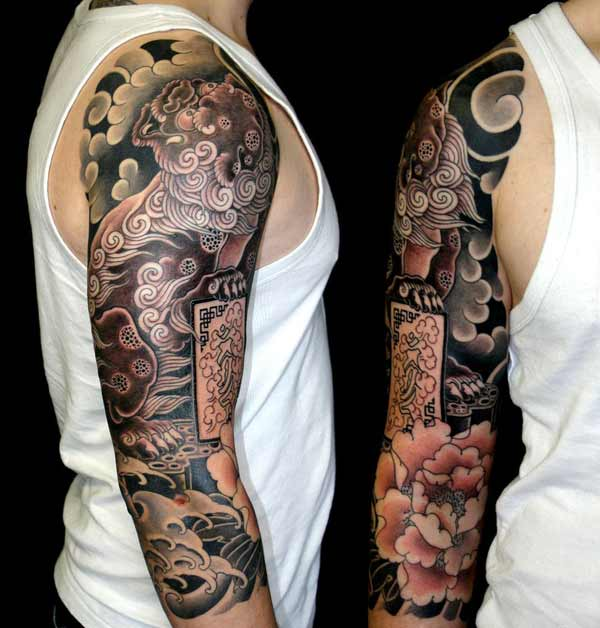 japansk arm tatoveringer