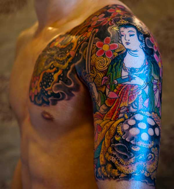 japanese style tattoos