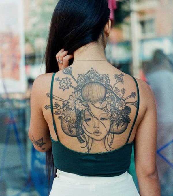 tatuagens de mulheres japonesas