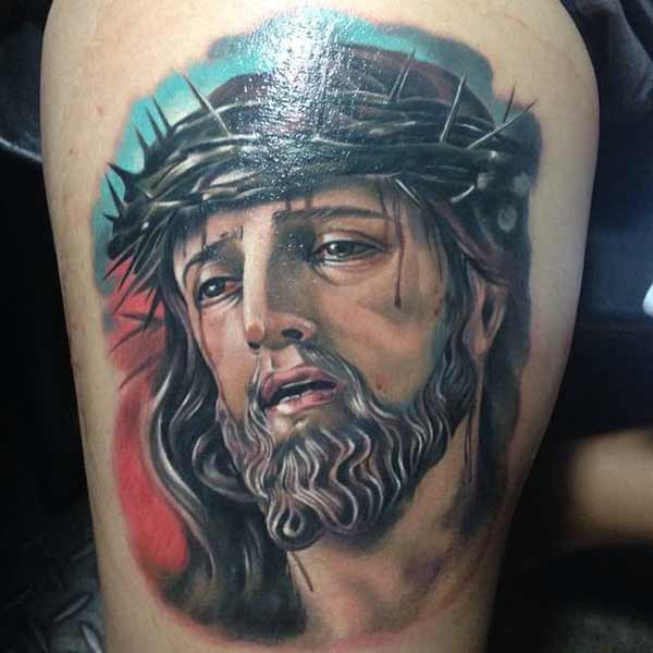 awesome jesus tattoos