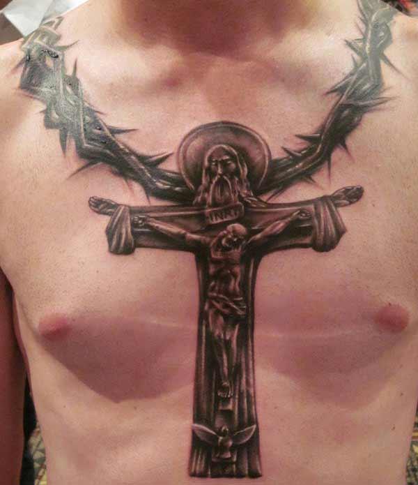 jesus Tattoo'en