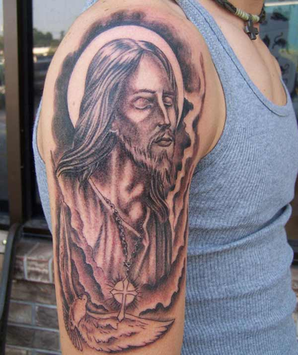 jesus tattoos foto's