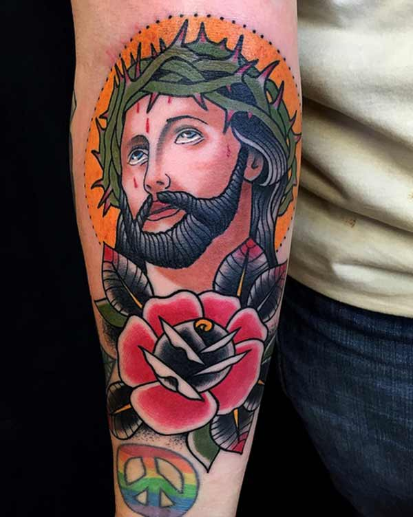 jesus tattoo ideas