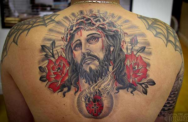 tattoos van Jesus