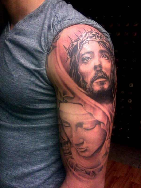 best jesus tattoos