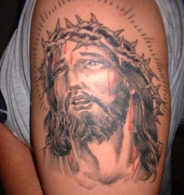 Jesus-tattoo kuns