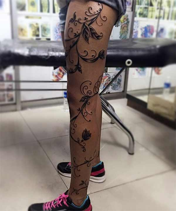 full leg tattoos