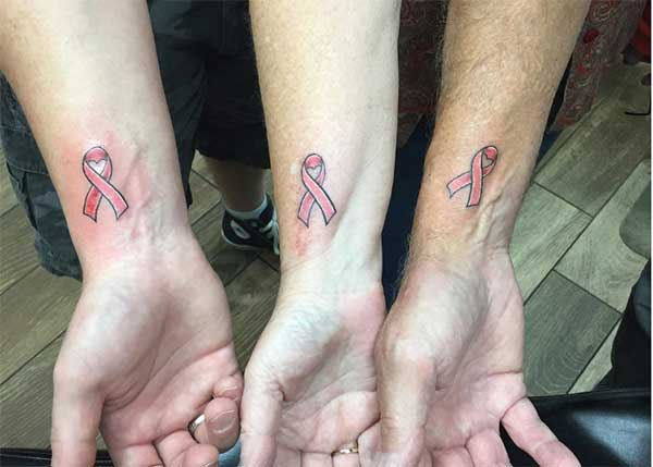 support matching tattoos