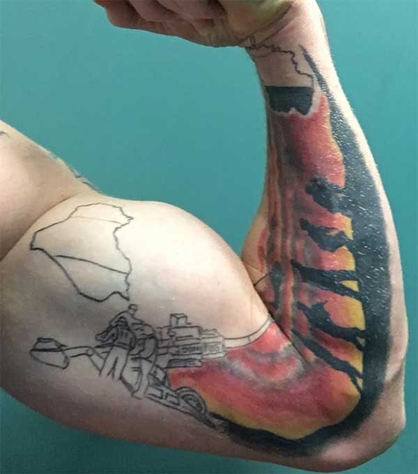military tattoos pics