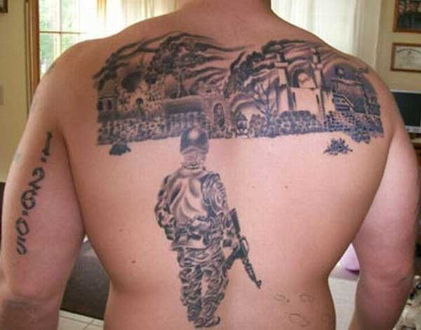 cool military tattoos
