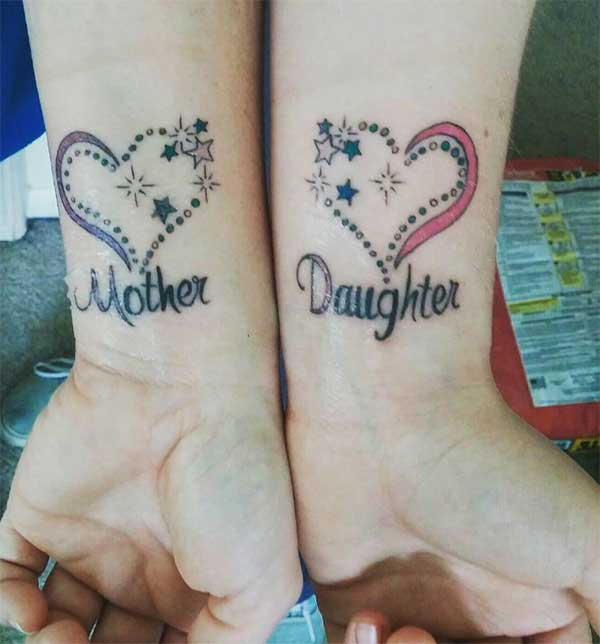 55 Best Mother Daughter Tattoos For Someone Special In: Best 24 Mother Daughter Tattoos Design Idea