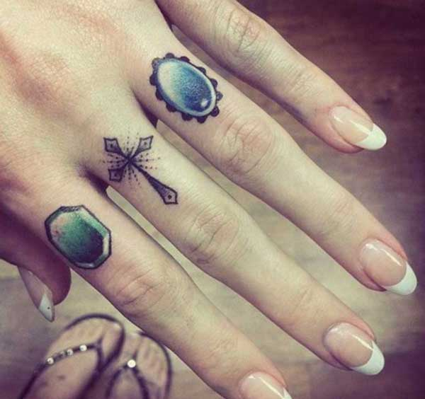 cool ring tattoos