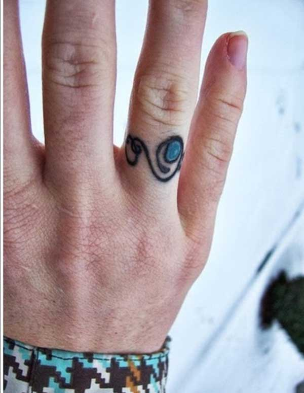 nice ring tattoos