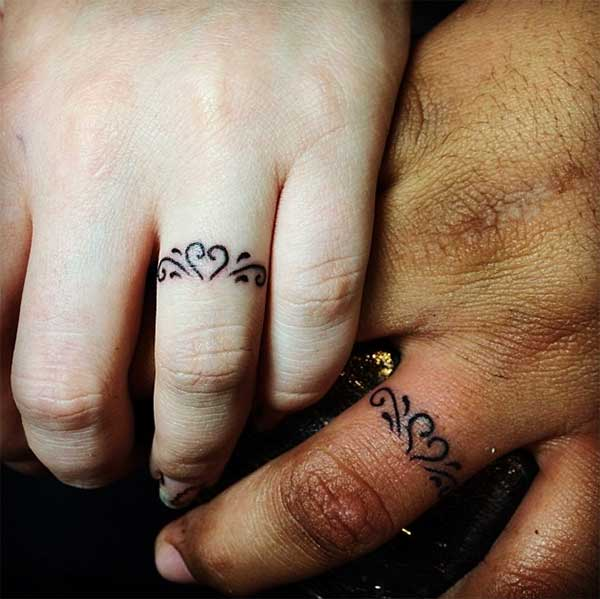 beautiful ring tattoos