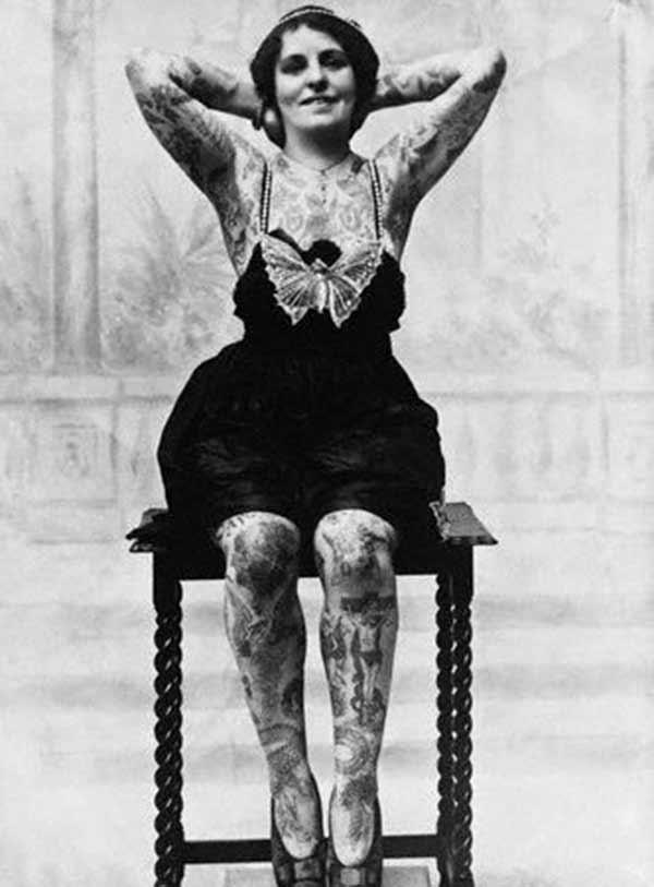 lindos tatuajes vintage
