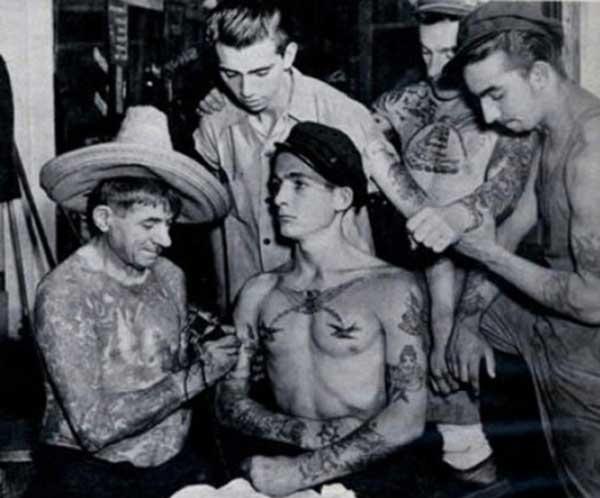 tatuaxe vintage gang