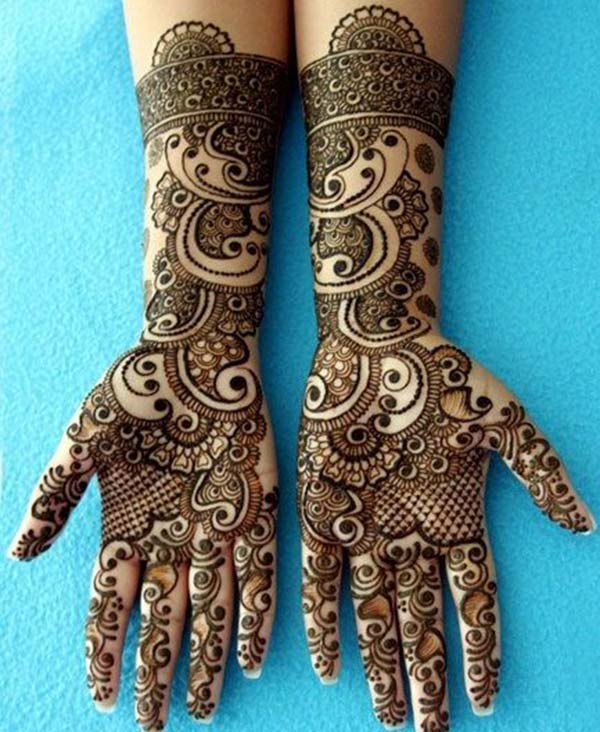 Palms Henna / Mehndi tattoo designs idea