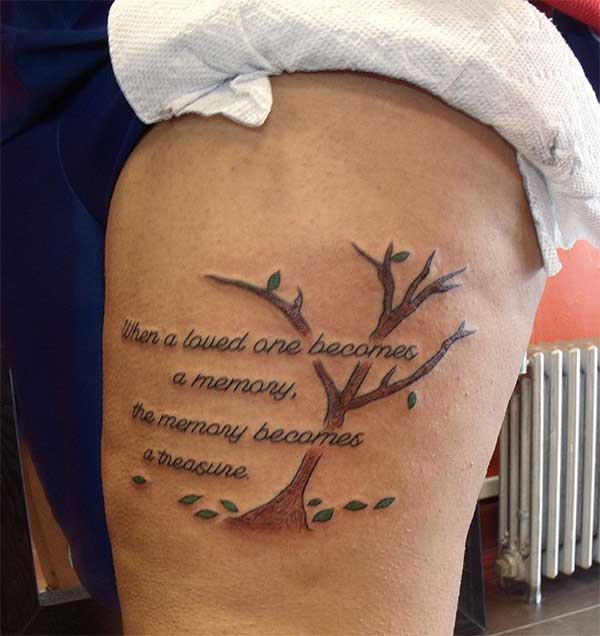 tatouages ​​de citation significative