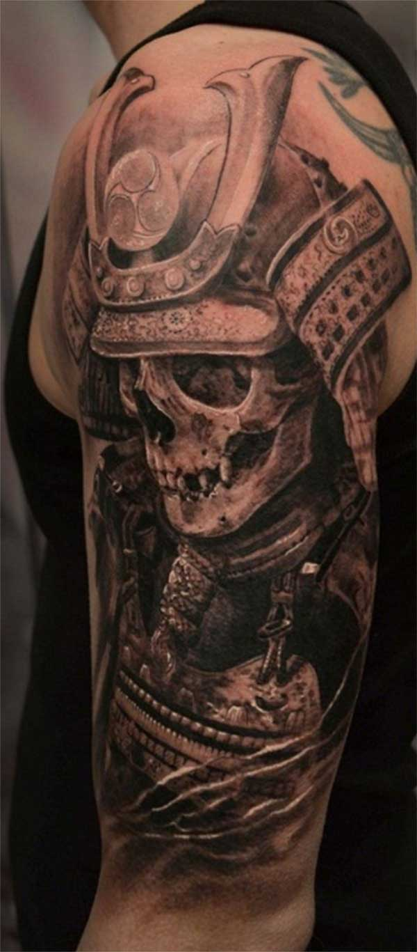 tattoo guys samurai