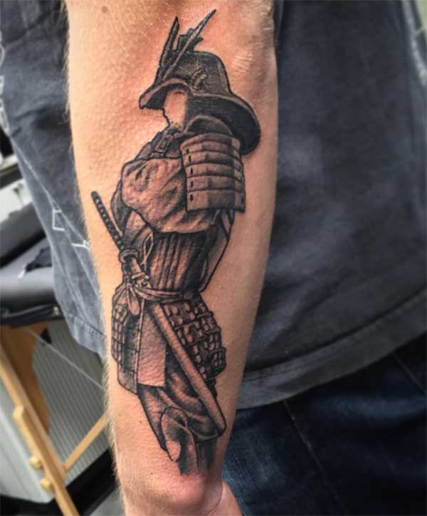 tattoo a samurai