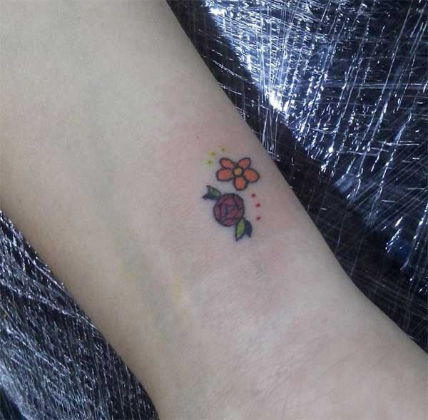 girly small tattoos