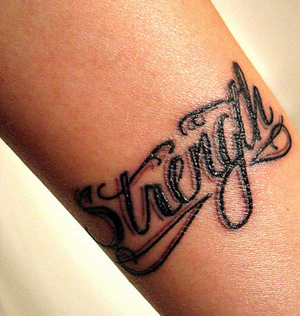 strength tattoos pictures