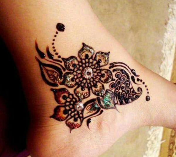 Henna Mehndi Tattoo Designs Idea For Wrist: Henna Mehndi Tattoo Designs Idea For Ankle