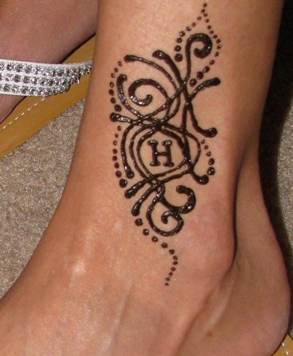 Henna Mehndi Tattoo Designs Idea For Ankle  Tattoos Art Ideas