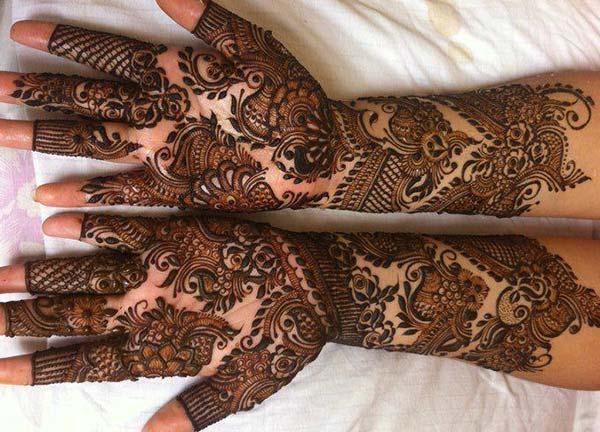Bridal Mehndi tattoo designs idea