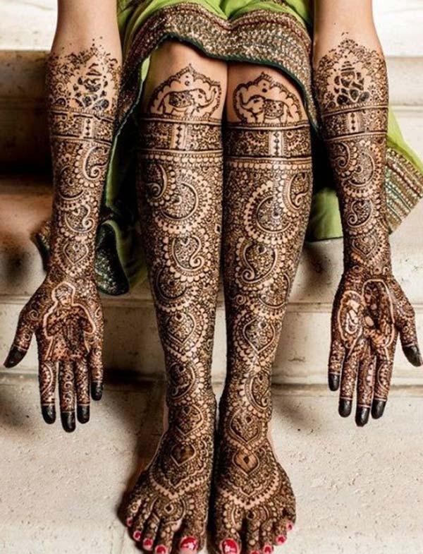 Bridal Henna / Mehndi tatuointi malleja idea