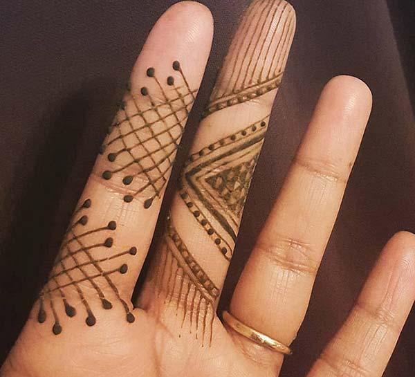 Reka bentuk Mehndi tatu reka bentuk