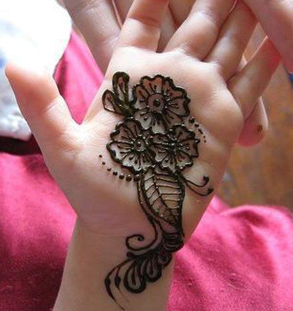 kids Henna / Mehndi tattoo designs idea