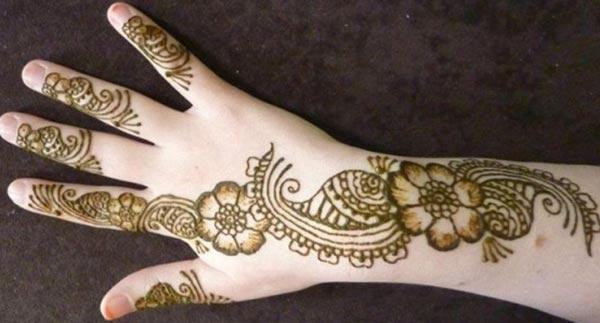 kids Mehndi tattoo designs idea