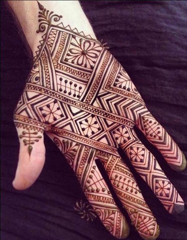 Idea lelaki jantan Henna / Mehndi