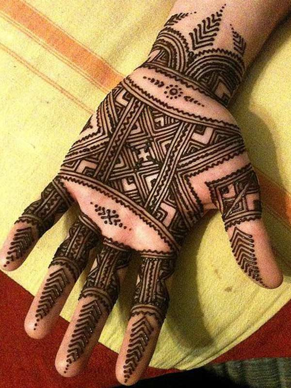 Males Mehndi tattoo designs idea