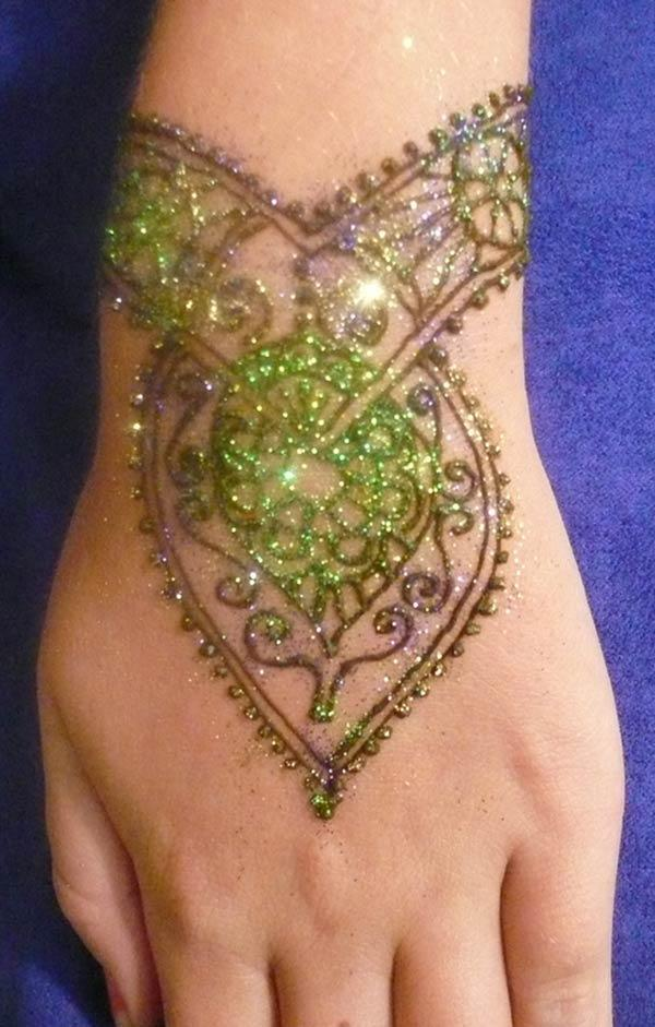 Wrist Henna A Henna Tattoo Creation By Louise A: Henna Mehndi Tattoo Designs Idea For Wrist