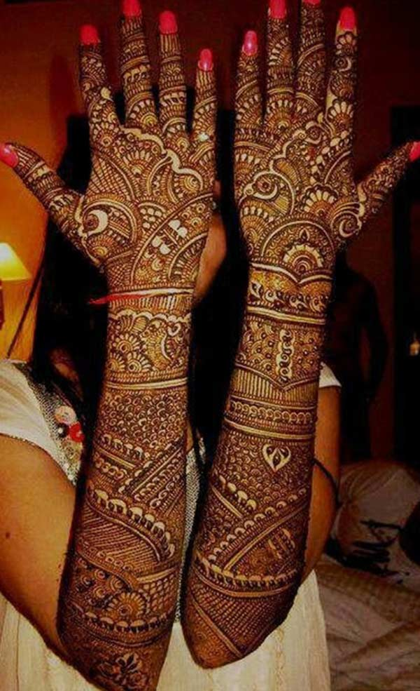 Full Arm Mehndi : Henna mehndi tattoo designs idea for full arm tattoos