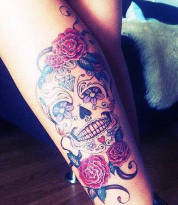 The best tattoo for female leg