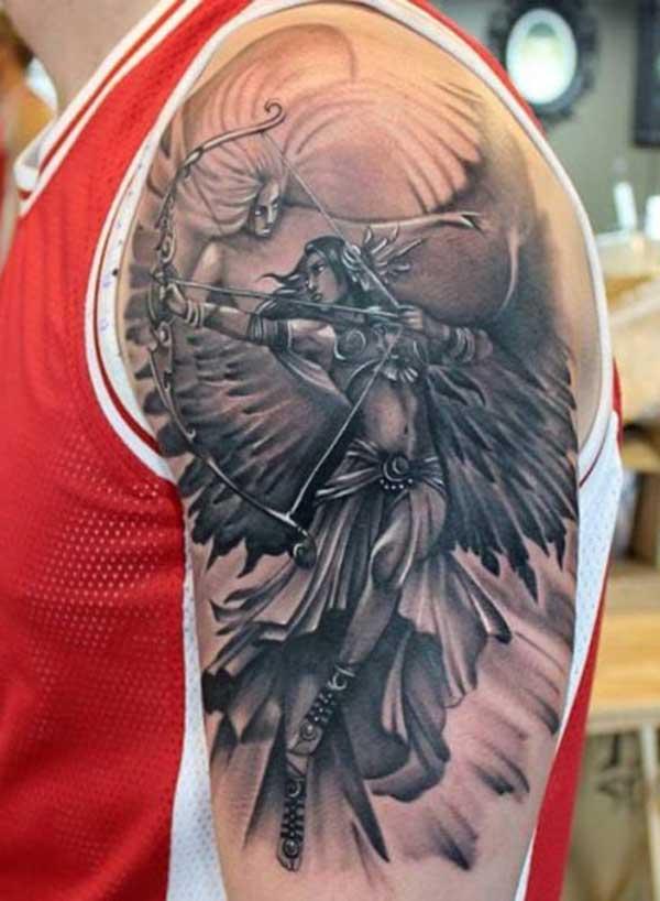 Tattoo Motiounen Engel