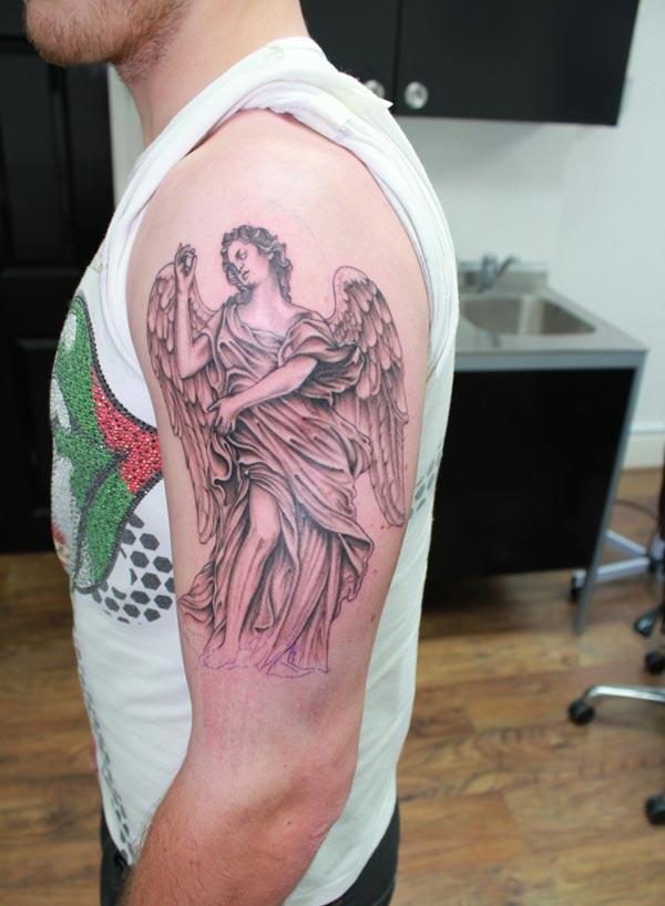 Tattooen Engelen