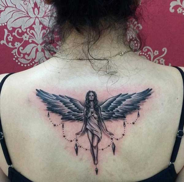 wêneyên angelî tattoo