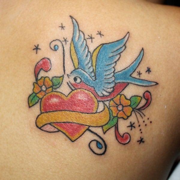 идеи татуировки птицы